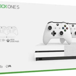 Xbox One S Two Controller Bundle (1TB)